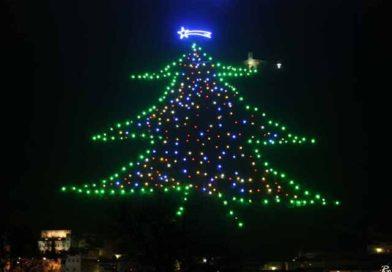 Dal 7/12  al 7/01 Gubbio: L'albero di Natale più grande del Mondo