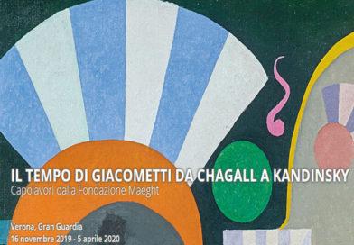 """Verona : """"Da Chagall a Kandinsky, il tempo di Giacometti"""" – fino al 5 aprile"""