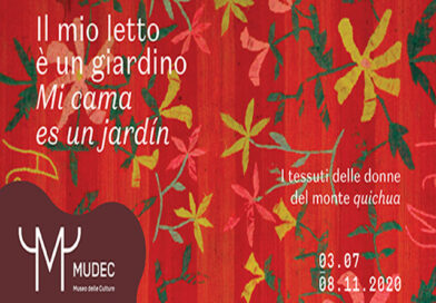 """Milano: """"Il mio letto è un giardino- Mi cama es un jardín"""" – fino all'8 novembre"""