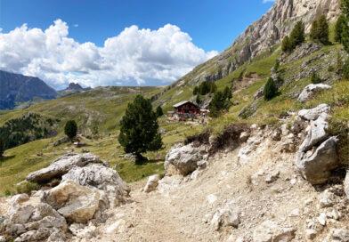 Rifugio Pertini 2316 m s.l.m. – Via Ferrata Col Rodella